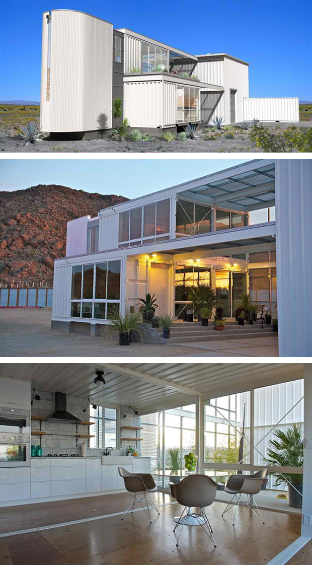 To Live in Shipping Container Homes 620 x 1122