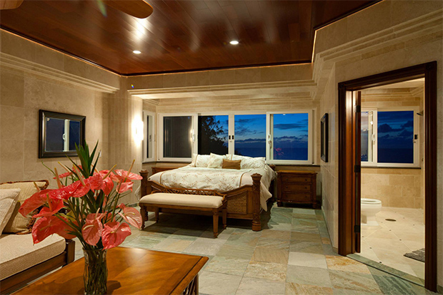 water falling state bedroom