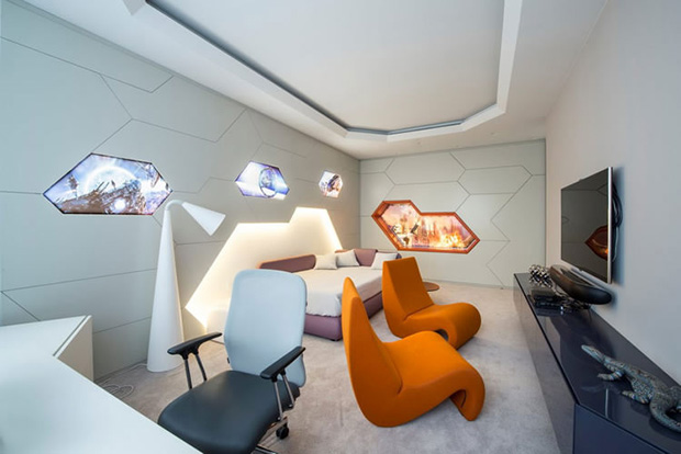 Futuristic Apartment