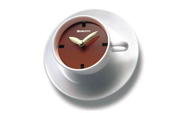 Coffee Cup Style Wall Clock
