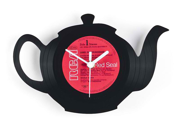Wall clock Teapot