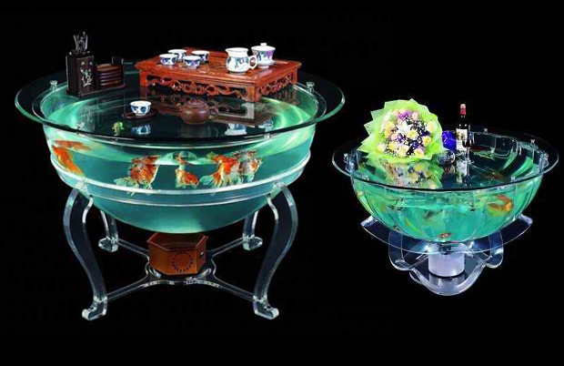 Aquarium Dining Table