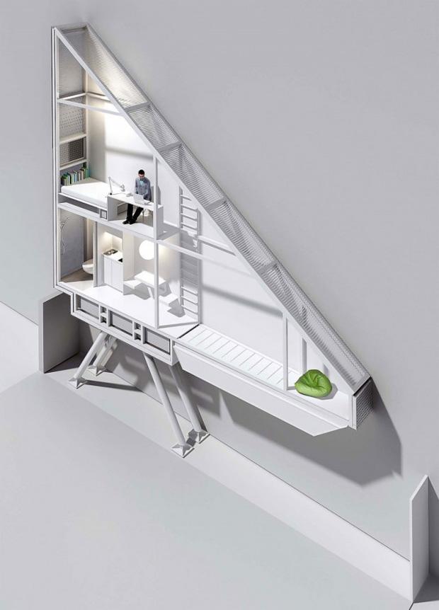 3d render keret house