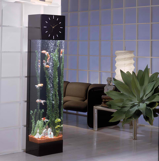Floor Clock Aquarium