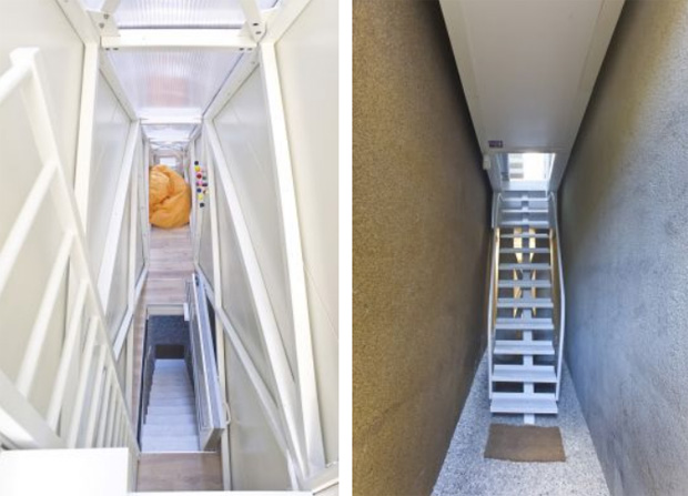 Keret House ladder