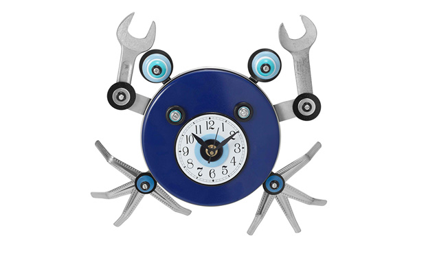 Crab Wall Clock Unusual Kitchen Clocks