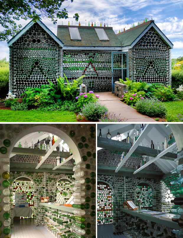 Six-gabled Bottle House