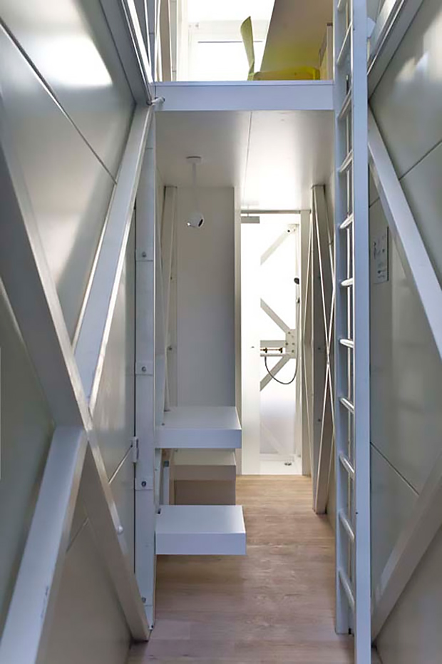 Keret House Lower Floor