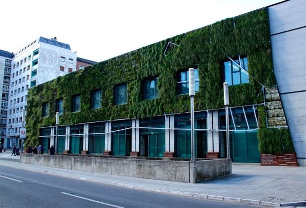 Vertical Garden Building Facade