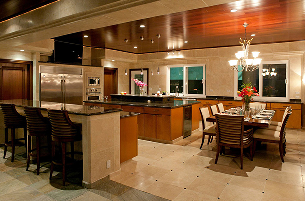 waterfall estate kitchen