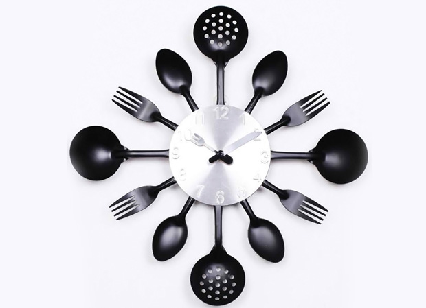 Knife Fork Spoon Originality clock