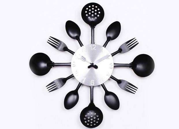 Knife Fork Spoon Originality clock