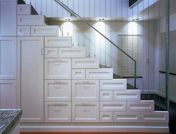 Staircase Storage