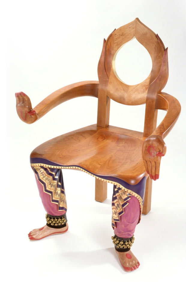 Youd Feel Like Dancing Once You See This Dance Chair But Will While Sitting