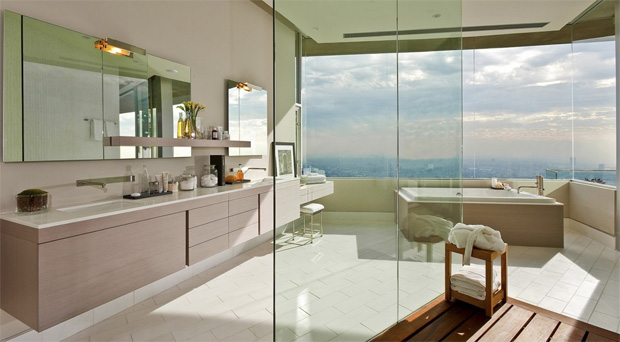 Hollywood Hills Bathroom
