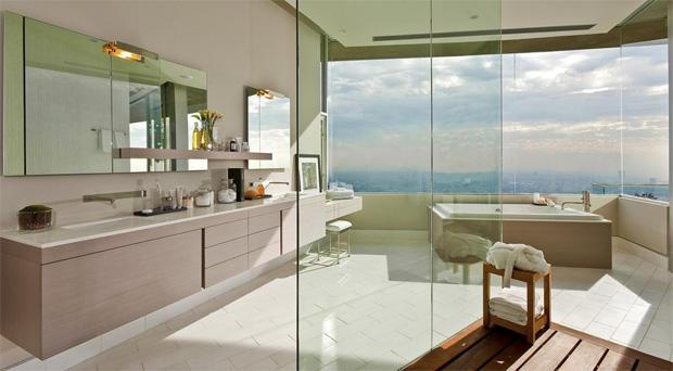 Hollywood Hills Bathroom