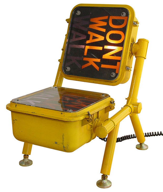 Walk – Don't Walk Chair