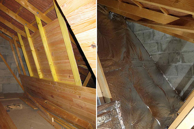 Attic to Boat Cabin