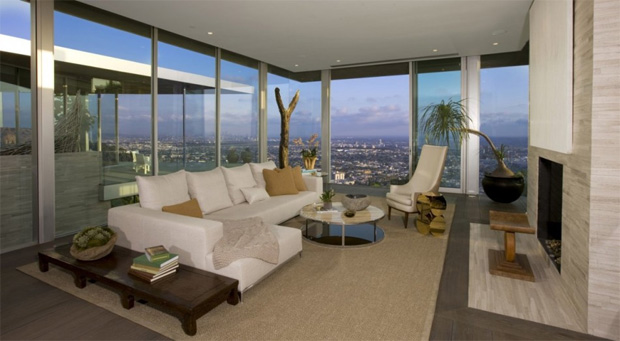 Hollywood Hills Living Room