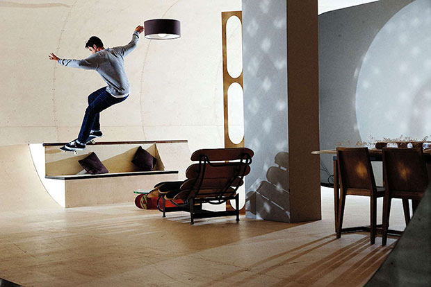 The House Skateboard