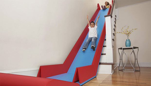 Awesome With This Indoor Slide, Your Kids Could Have Endless Fun Without Worrying  About The Weather.