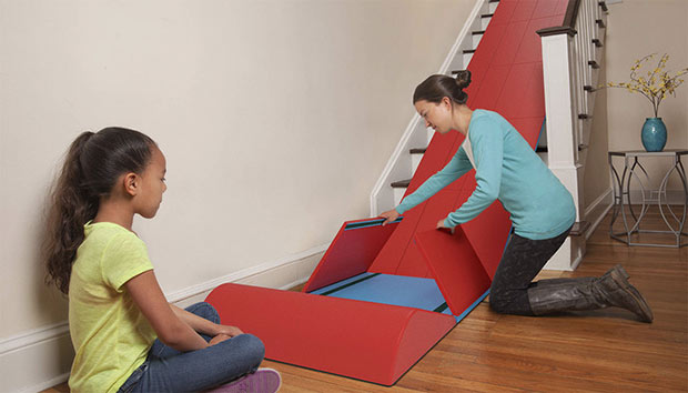 Turn Your Home Into a Playground With A Stair Slider That Will ...