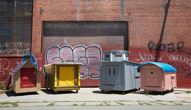 Homes from Trash