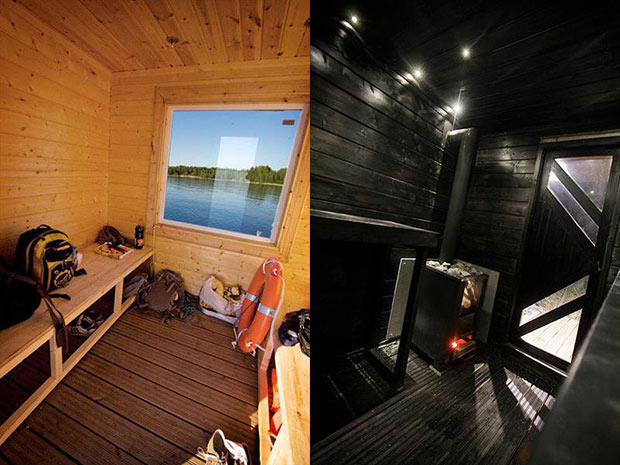 DIY Sauna Raft