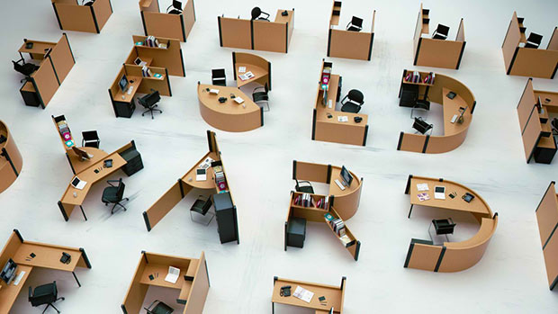 cubicle modern