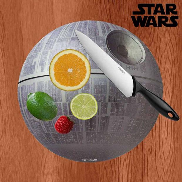 Star Wars Death Star Chopping Board