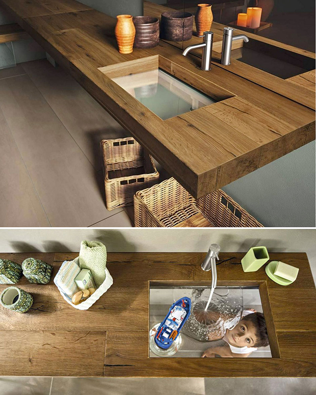 Transparent Sink