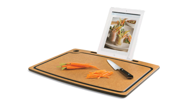 Chef Sleeve Cutting Board