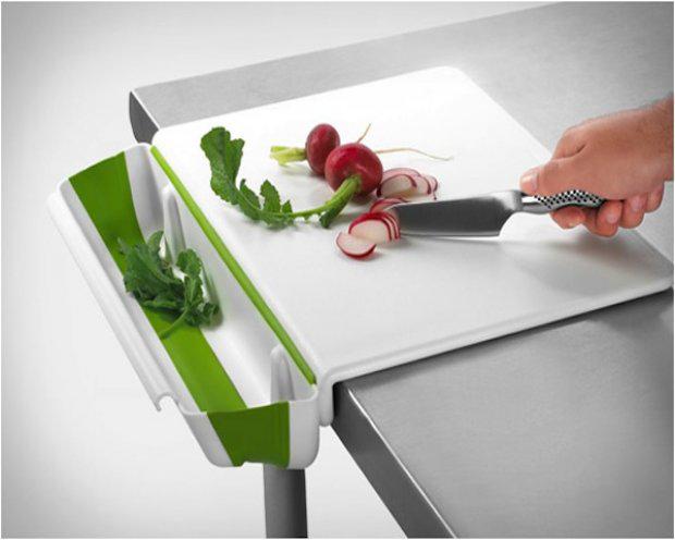 Collapsible Bin & Cutting Board