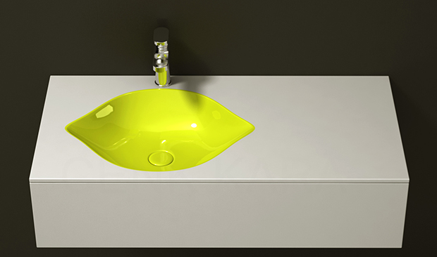 Lemon Shaped Sink
