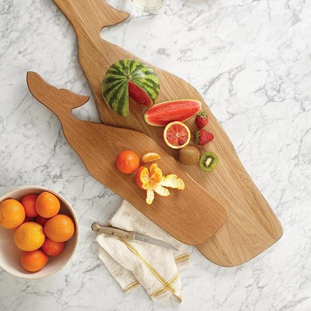 Whale Wood Cutting Board