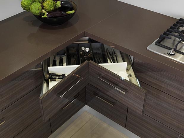 corner drawer-cabinets storage