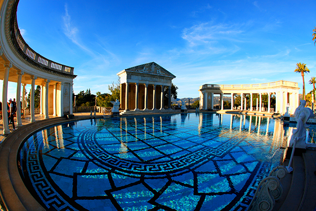 Neptunes Pool of Hearst Castle
