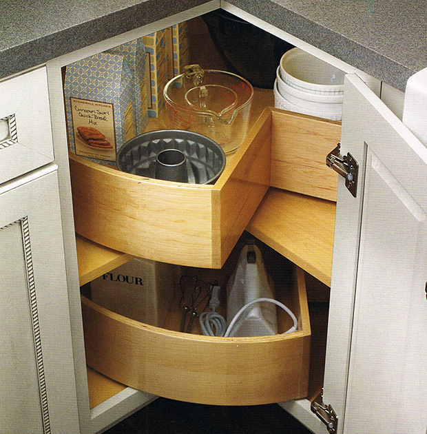 Lazy SusanGot a Kitchen Corner Storage Problem  Here are 20 Solutions You d  . Corner Storage Cabinets For Kitchen. Home Design Ideas