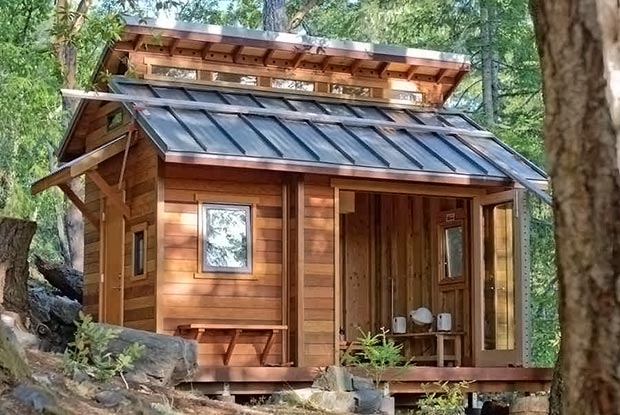 Tiny House In The Wilderness