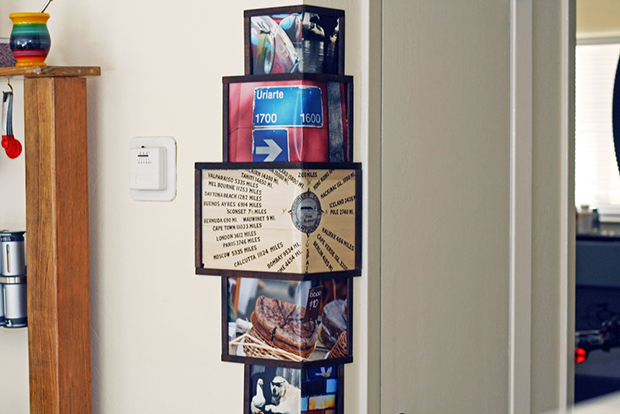 wrap around wall frame
