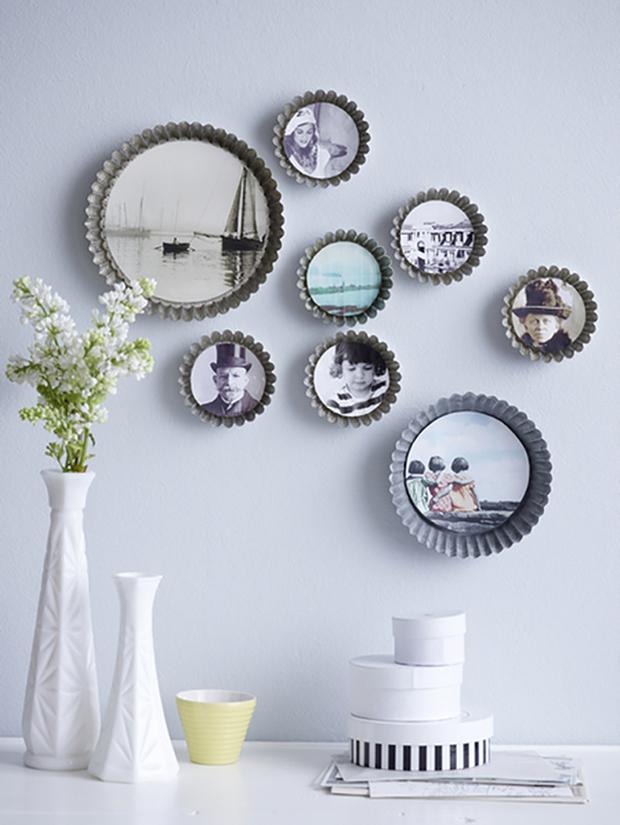 cake pan wall frames