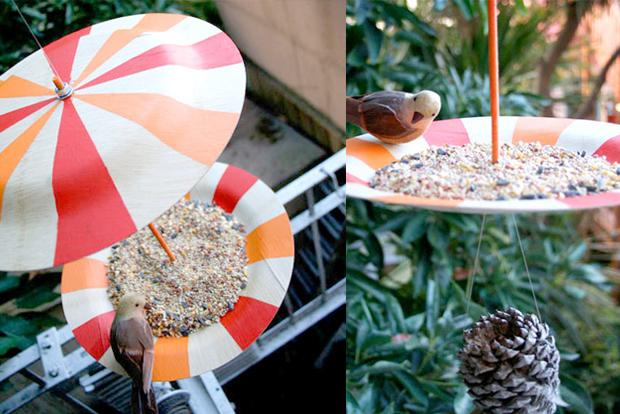 bird feeder plate