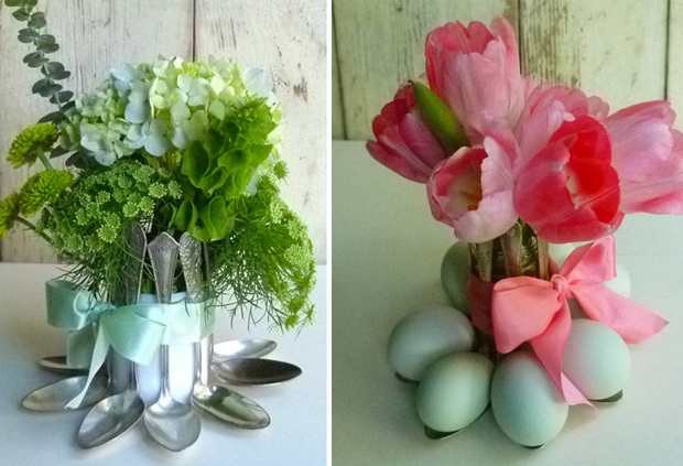 Old Kitchen Items: Spoon Egg Holder
