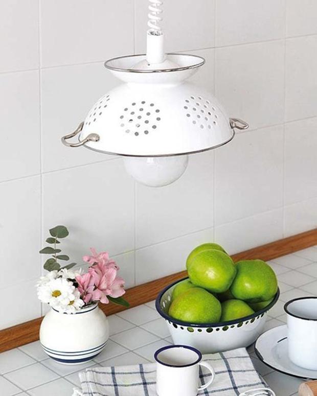 Colander Pendant Lamp