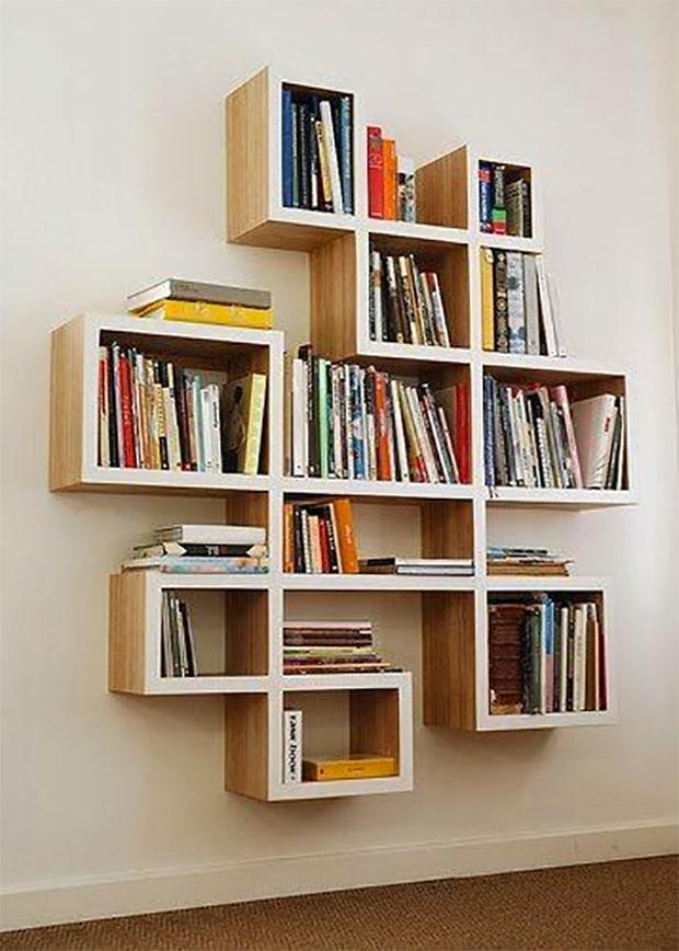 Geometric Book Case
