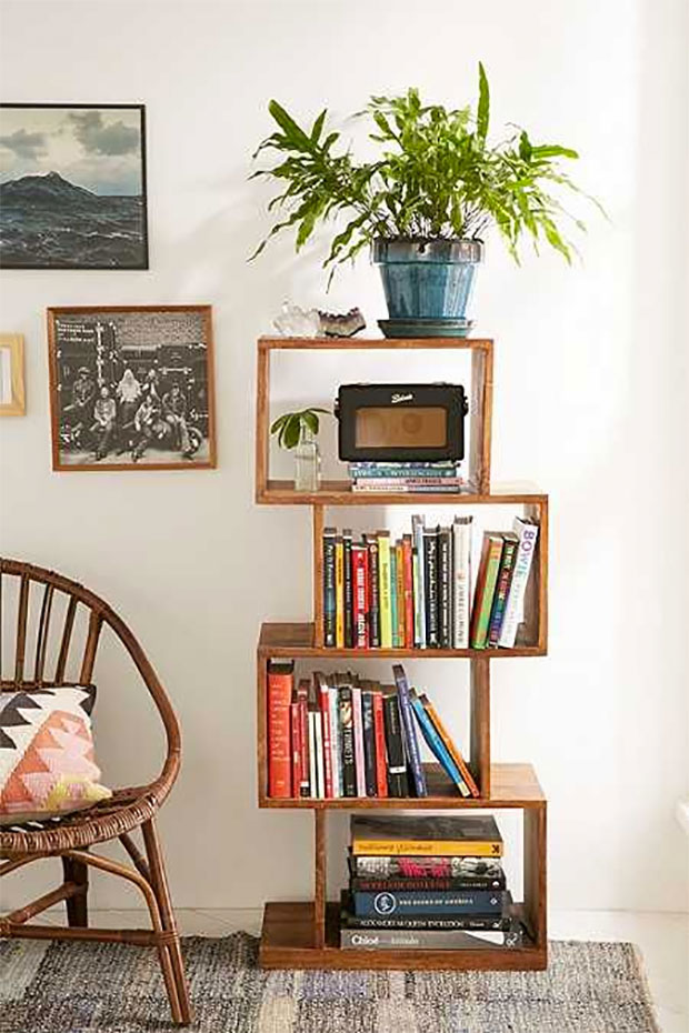 Balanced Bookshelf