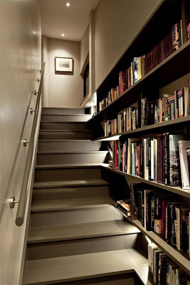 Staircase Shelf