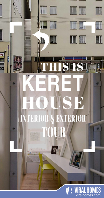 Keret House: The Modern Narrow House You Need to See
