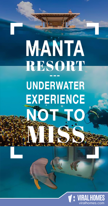 A Relaxing Underwater Experience at The Manta Resort in Pemba Island