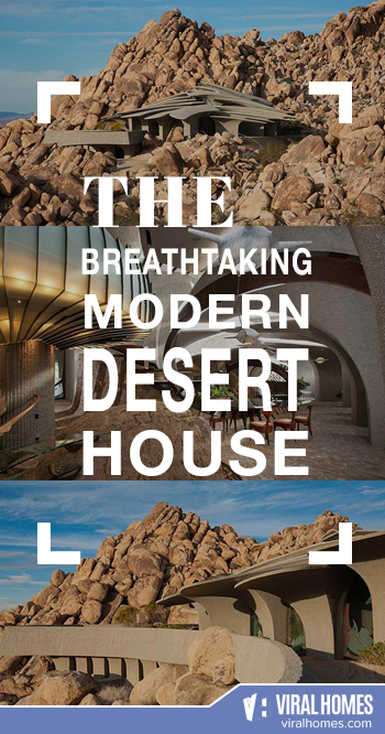 The Modern Desert House That'll Take Your Breath Away